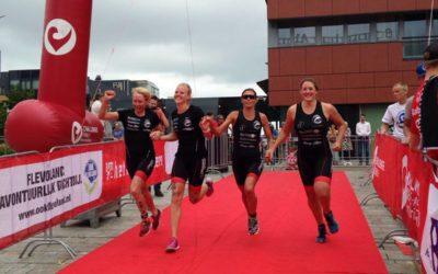 Laatste wedstrijd Eredivisie Triathlon in Almere