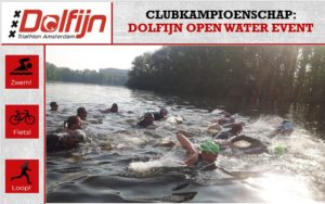 Dolfijn Open water event