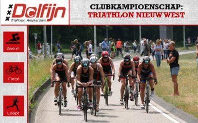 Clubkampioenschap: Triathlon Nieuw-West