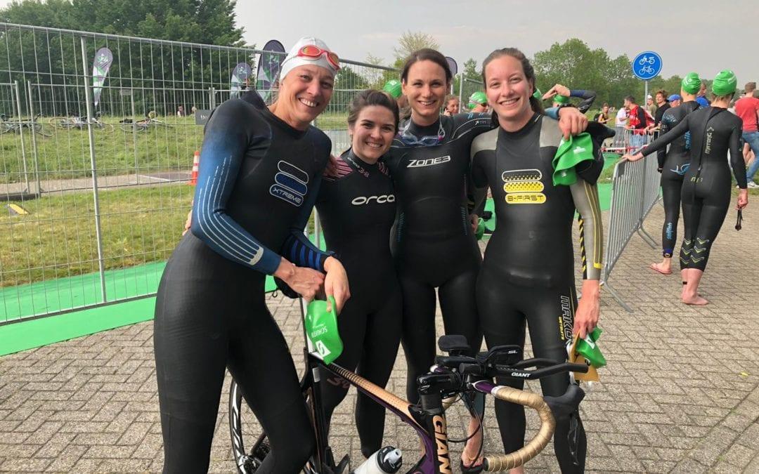 Aftrap teamcompetities – tweede divisie dames