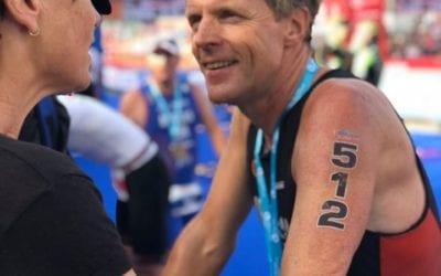 Pieter Iedema: De hele triathlon Challenge in Almere 2019