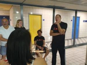 Interview met Jean-Philippe – zwemtrainer De Dolfijn
